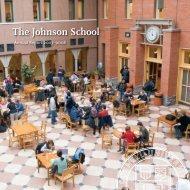 The Johnson School Annual Report 2007–2008 - Johnson Graduate ...