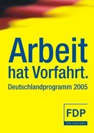 Deutschlandprogramm 2005