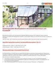 www.finstral.de - Systemgeprüfte Wandsysteme in ... - Fenster Troll