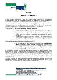 Avviso DR45 Ottobre 2012 - BCC Vignole