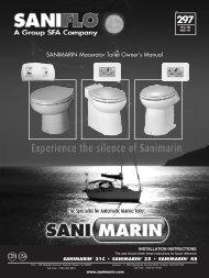 Installation manual - Sanimarin