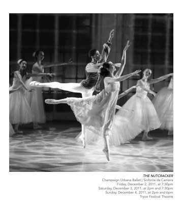 The NuTcracker Champaign Urbana Ballet | Sinfonia da Camera ...