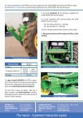 FRONT HITCH AND POWER TAKE-OFF FOR JOHN ... - Laforge - Page 2