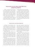 VEIKLOS ATASKAITA 2004 - Page 4
