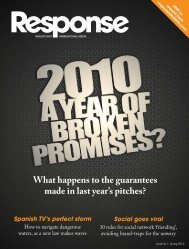 What happens to the guarantees made in last year's ... - Ebiquity