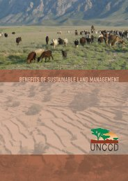 BENEFITS OF SUSTAINABLE LAND MANAGEMENT - UNW-AIS