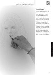 Kultur und Gestalten - vhs Murnau