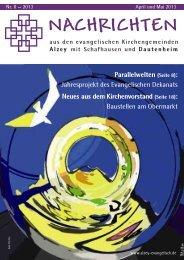 schon als PDF lesen... - Evangelische Kirchengemeinde Alzey