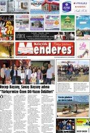 02 Haziran Tarihli Küçükmenderes Gazetesi