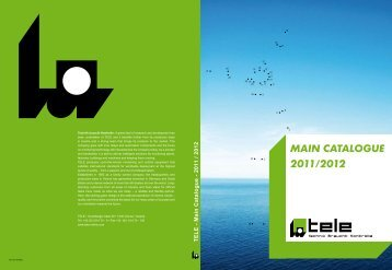 TELE - Main Catalogue - 2011 / 2012 - Automatech