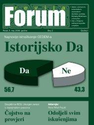 Pe tak, 5. maj 2006. go di ne Broj 2 Go di na I - Forumbosnjaka.com