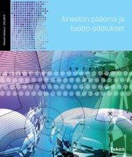 270/2010 Aineeton pääoma ja tuotto-odotukset - Tekes