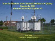 to download Iowa Air Quality Exceedance Report of ... - Bettendorf.com
