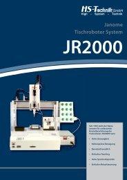 JR2000 Janome Tischroboter System - HS-Technik