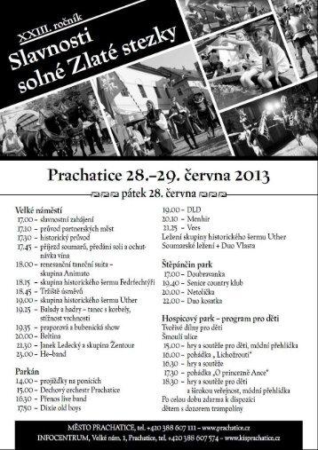 Program 2013 zde ke stažení (PDF) - Prachatice