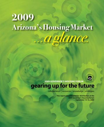 2009 Arizona's Housing Market ...a glance. - Arizona Department of ...