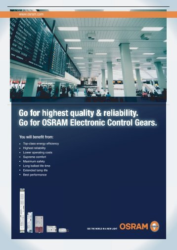 OSRAM BROCHURE Middle East