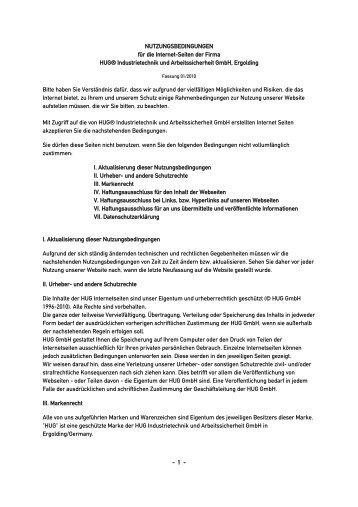 download pdf ---> hier - hug-technik ergolding