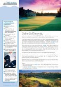 Golfprogramm Winter 2009/2010 - Seite 2