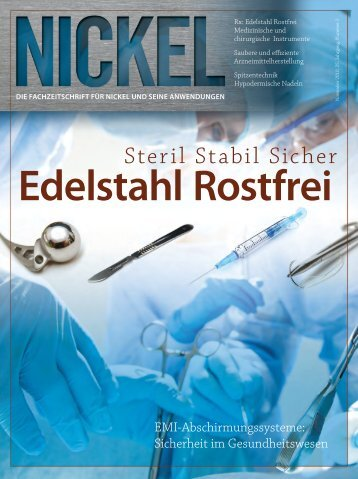 Steril Stabil Sicher - Nickel Institute