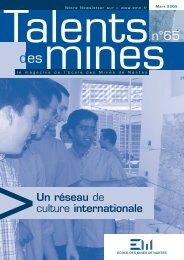 Un réseau de culture internationale - Ecole des mines de Nantes