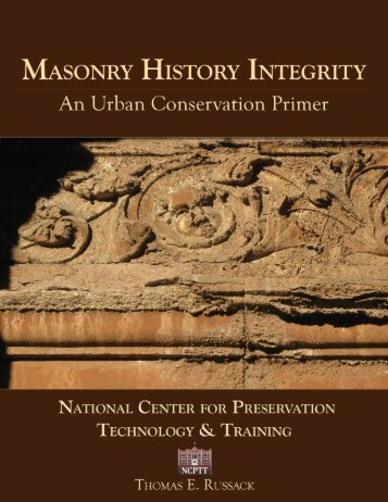 Masonry History Integrity - National Center for Preservation ...