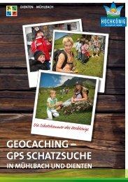 GeOcachinG – GPS SchatZSUche - Hochkoenig