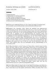 Klima und Entwicklung - Begriffsbestimmungen