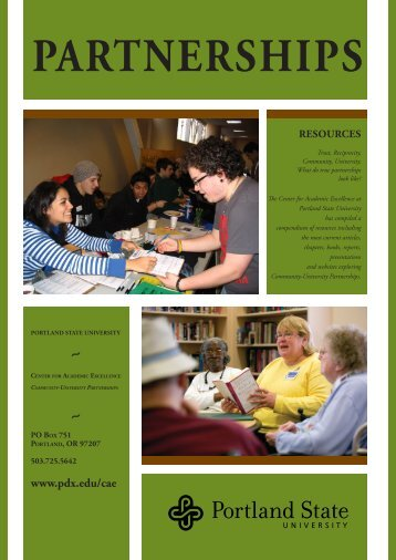 Portland State University-Bibliography - The American University in ...