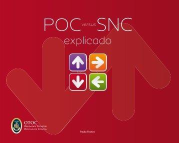 POC versus SNC explicado - Ordem dos Técnicos Oficiais de Contas
