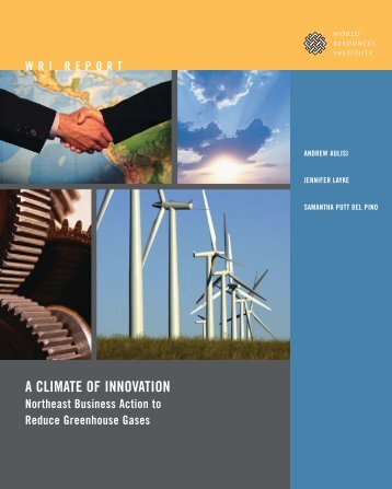 A CLIMATE OF INNOVATION - World Resources Institute