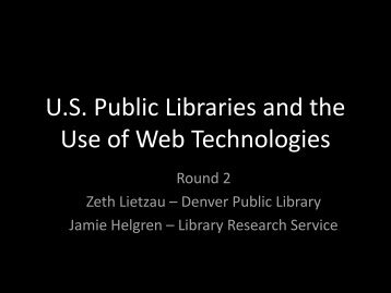 View a PDF version of the PowerPoint presentation - Library ...