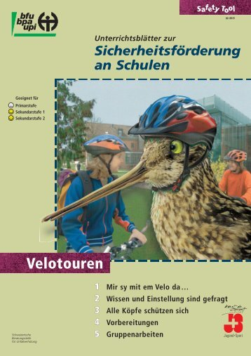 Velotouren (Lehrmittel) - Bike2school