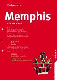 Memphis resource pack - Design Museum