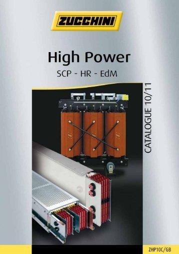 Zucchini High Power Catalogue - legrand