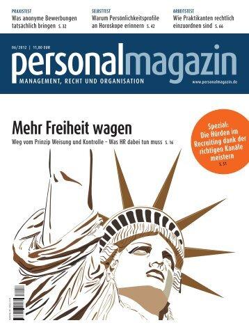 Mehr Freiheit wagen - Haufe.de