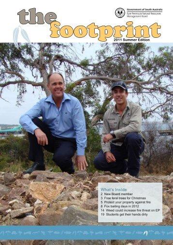 The Footprint 2011 Summer Edition - Eyre Peninsula Natural ...