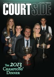 Courtside Magazine August 2013 - Kooyong Lawn Tennis Club