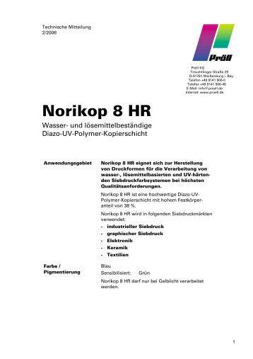 Norikop 8 HR - Pröll KG