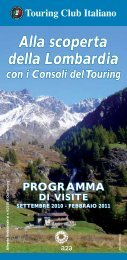 Alla scoperta della Lombardia - Touring Club Italiano