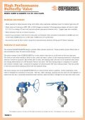 High Performance Butterfly Valves - Global Supply Line - Page 2