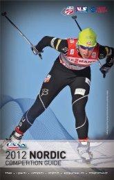 USSA Nordic Competition Guide - US Ski Team