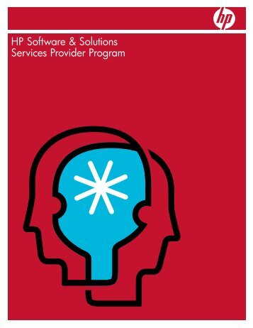 HP Software & Solutions Services Provider Program ... - HP OpenView