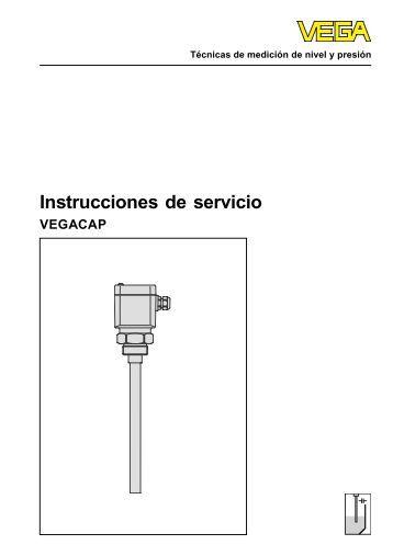 Instrucciones de servicio - VEGACAP