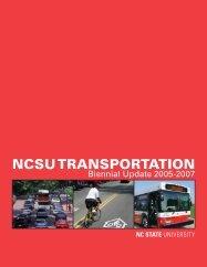 NCSU TRANSPORTATION - North Carolina State University