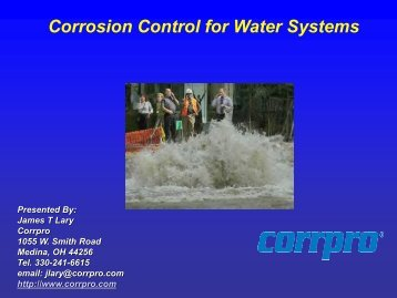 Corrosion Control For Water Systems - Ohiowater.org