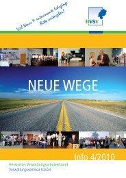 Info 4/2010 - Hessischer Verwaltungsschulverband
