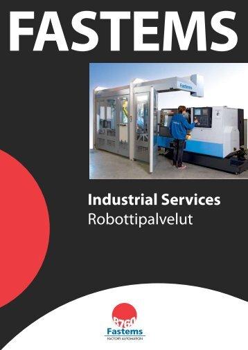 Esimerkkejä robottipalveluistamme - Fastems