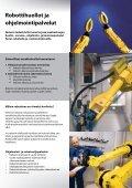 Esimerkkejä robottipalveluistamme - Fastems - Page 2