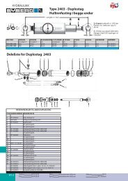 Type 2403 - Duplostag Hullinnfesting i begge ender Deleliste for ...
